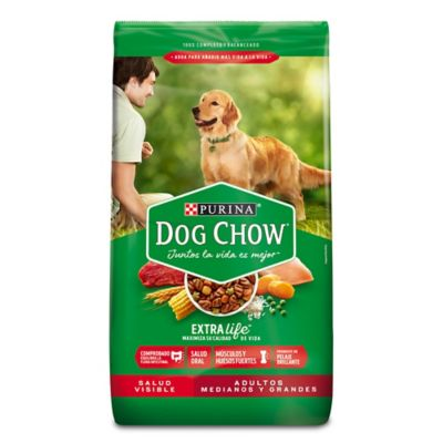 Dog Chow adultos raza mediana x 22,7 kilos