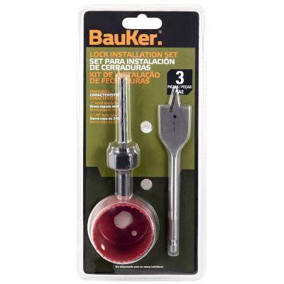 Set instalar cerraduras 3 piezas BBK03131
