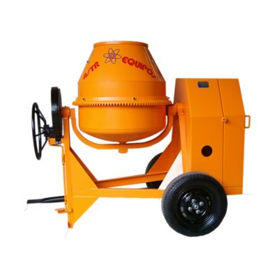 Mezcladora 1.5 Bultos (480L) Motor Gasolina Komax 9HP