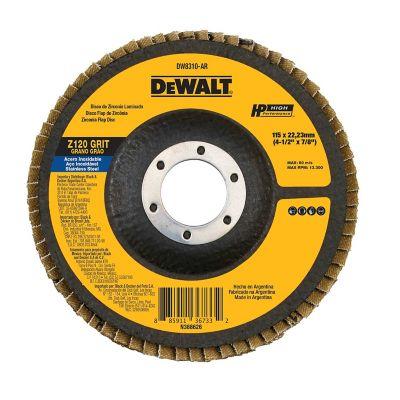 Disco Flap 4-1/2X7/8 Pulgada  Grano 120  Ref DW8310