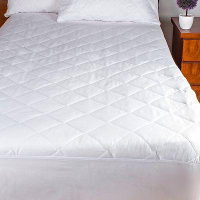 Protector ajustable para colchón doble