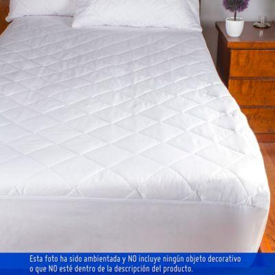Protector ajustable para colchón extradoble