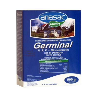 Fertilizante balanceado germinal 500 gramos