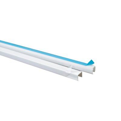 Canaleta de Superficie Dexson, Blanca, 10x10, con Adhesivo
