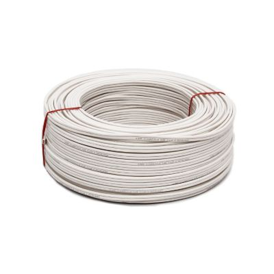 Cable 2x14 100m Blanco spt