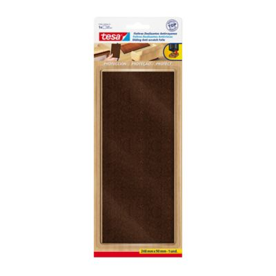 Fieltro Rectangular A.Rayones Marron 90X248mm x 1 Und.