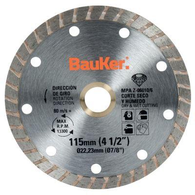 Disco diamantado turbo 4-1/2 pulgadas  21WT151