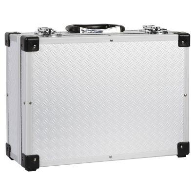 Caja de Herramientas en Aluminio de 4 Compartimientos
