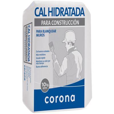 Cal hidratada 10 kilos, Corona