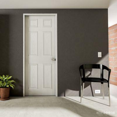 Puerta Prepintada Sinfonía 60x200 cm