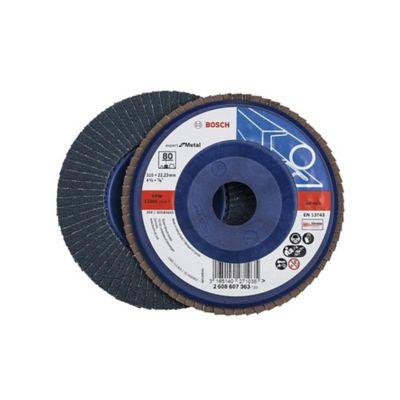 Disco flap 4 1/2 pulgadas grano 80 bluemetal/plástico 2608607363