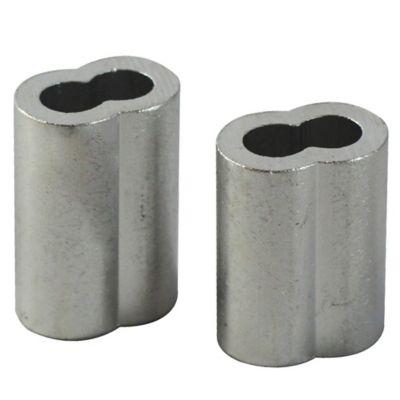 Ajuste cable de acero 1/8 pulgada (0,31 cm diámetro) 2 unidades