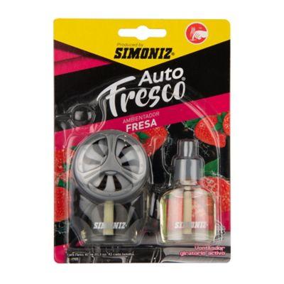 Ambientador ventilador repuesto fresa 10 ml