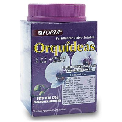 Fertilizante Soluble Orquideas X 125 Gr