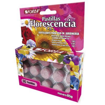 Forza Pastillas Flores Rosadas X 30