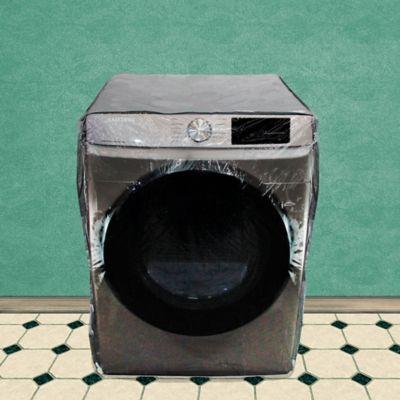 Forro lavadora carga frontal grande 26 - 33 libras gris