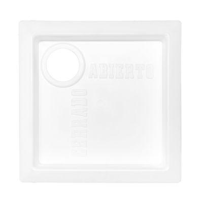 Caja registro corte gas plástica