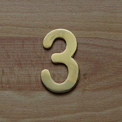 Número Dorado # 3 FIXSER