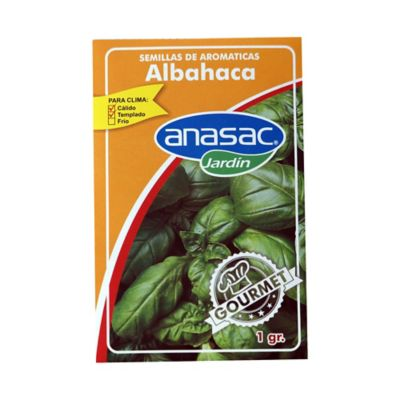 Semilla albahaca 1 gramo