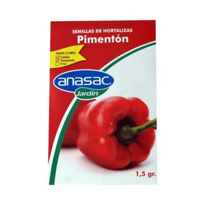 Semilla pimentón 1,5 gramos
