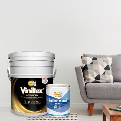 Pintura para Interior Blanco 5 Galones + 1 Galón
