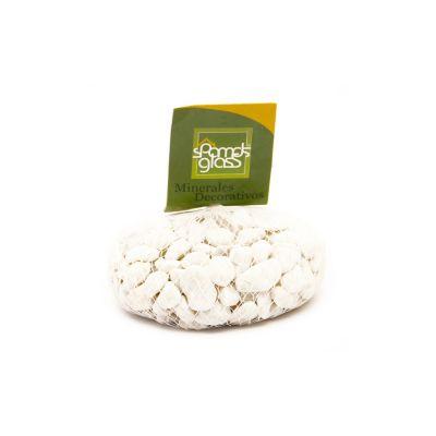 Piedra fósil blanco #4 x 1000 gramos