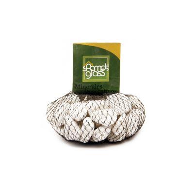 Piedra fósil blanco #6 x 1000 gramos