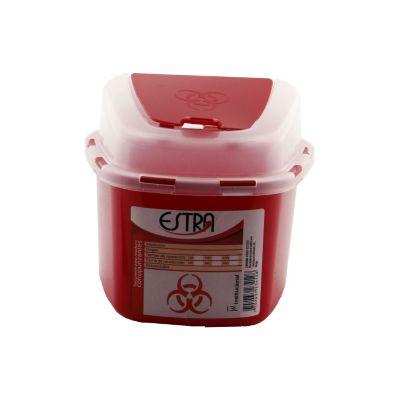 Recipiente para cortopunzantes 1,3 litros