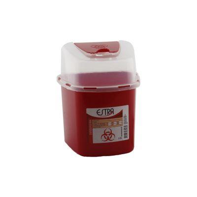 Recipiente para desechos cortopunzantes 2,8 litros