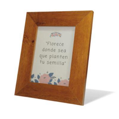 Portaretrato flat en madera 30 x 42 cm
