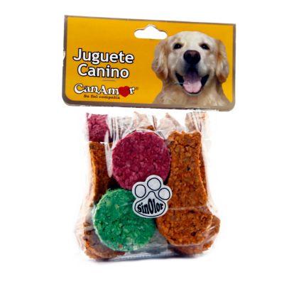 Jueguete canino x 200 gramos