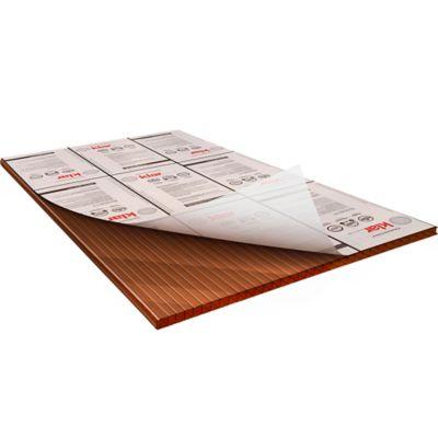 Lámina Alveolar 6mm 2.95X1.05mt Bronce
