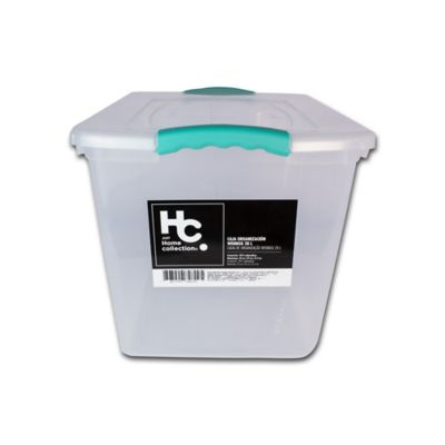Caja Organizadora Wenbox 32x31x42 cm 28 Lt Transparente