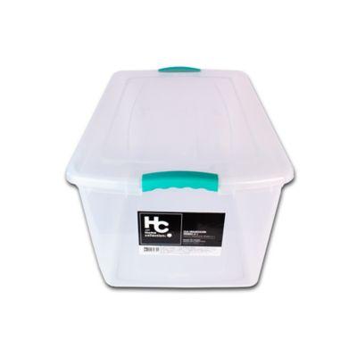 Caja Organizadora Wenbox 40x31x66 cm 61 Lt Transparente