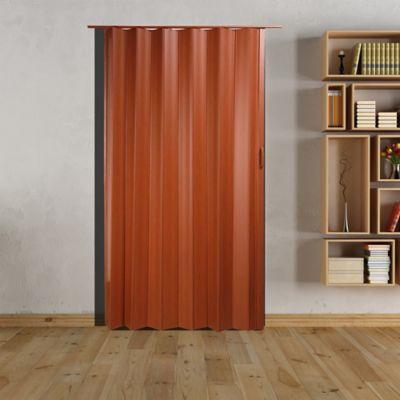 Puerta Plegable PVC Tivoli Caoba 70x200 cm