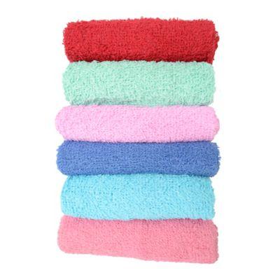 Set x 6 toallas faciales 30 x 30 cm 290 gramos