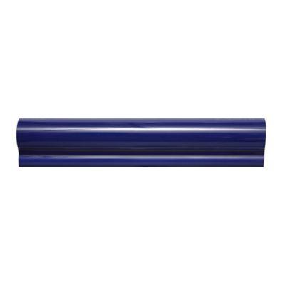 Cornisa Cerámica para Piscina 5x25 Centímetros Azul Oscuro