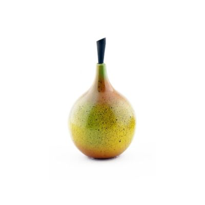 Fruta madera granadilla 9 cm brillante