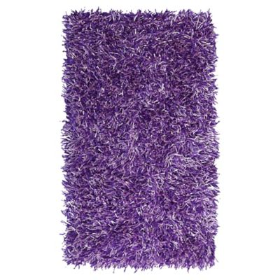 Tapete Shaggy Mix 60x110 cm Purpura