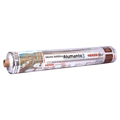 Manto Alumanto 3mm 10mt2 Foil Aluminio