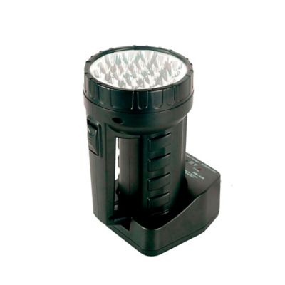 Linterna Recargable de 19 Led Negra Doble Salida