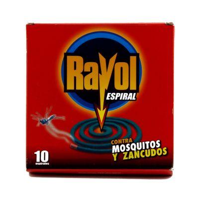 Insecticida espiral por 10 unidades