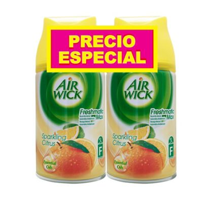 Ambientador fresh matic citrus repuesto