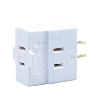 Multitoma 3 entradas polarizadas 15 amperios - 125 voltios