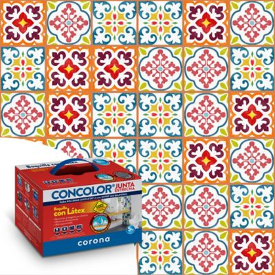 Concolor flex 5-15mm ladrillo 5 kilogramos