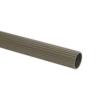 Tubo Ranurado 25 mm x 200 cm Dark Silver