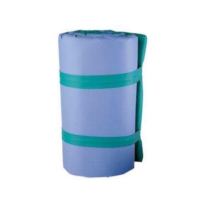 Colchoneta enrollar impermeable verde azul
