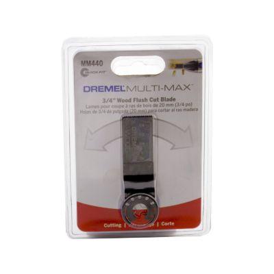 Set de Hojas Multi-Max MM440 Para Cortar Madera Al Ras ¾-pulg (20mm)