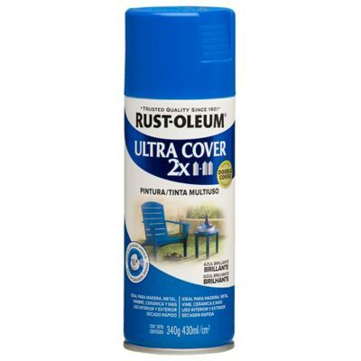 Aerosol Ultracover 2X Azul Brillante 430ml