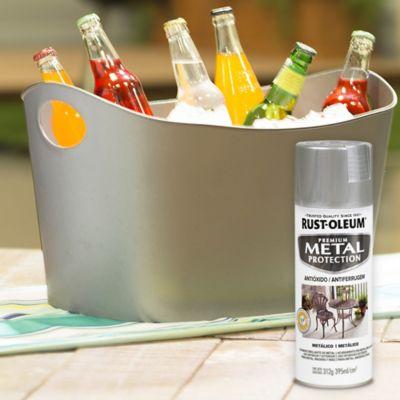 Aerosol Anticorrosivo Metalizado Plata 355 ml